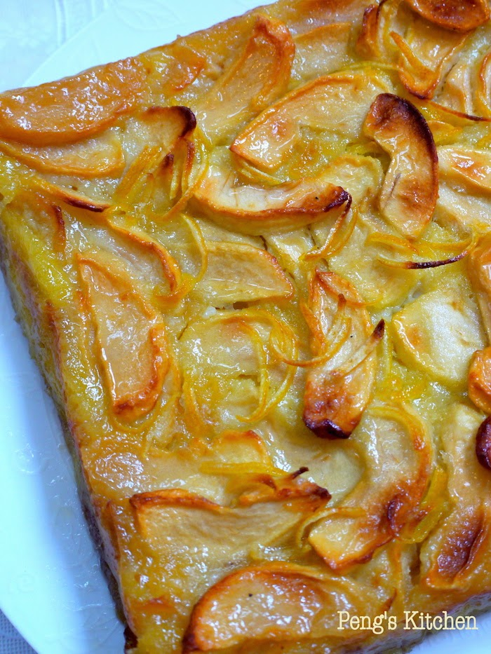 the apple lady apple cake