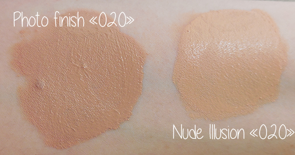 nude illusion vs photo finish