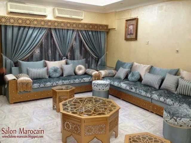 boutique salon marocain 2018 2019 tapissier. Black Bedroom Furniture Sets. Home Design Ideas
