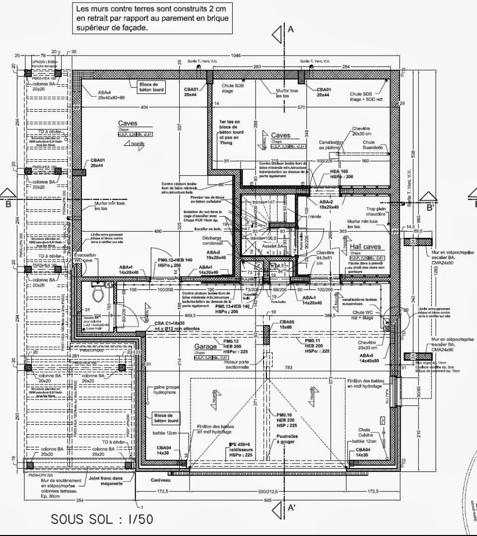 les plans de notre maison construction d 39 une maison unifamiliale avec exel construction. Black Bedroom Furniture Sets. Home Design Ideas
