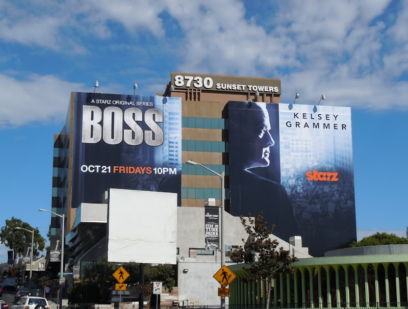 Giant Boss TV billboard
