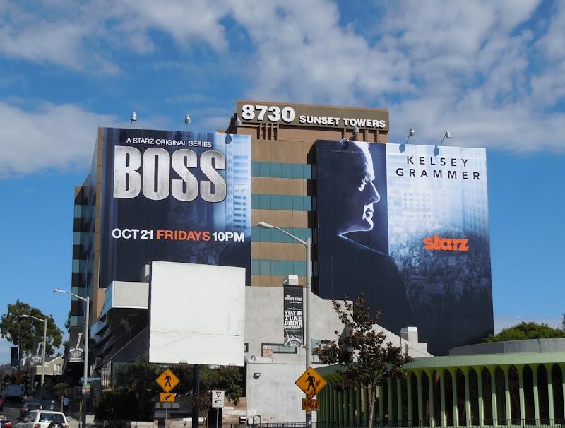 Giant Boss TV billboard
