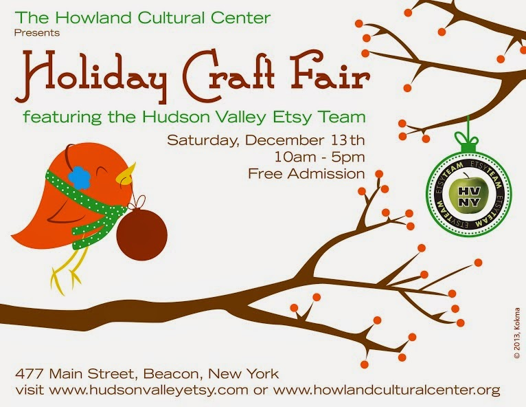 Hudson Valley Etsy Holiday Craft Fair