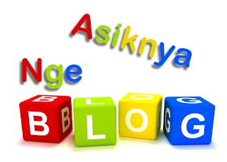 Asiknya Ngeblog
