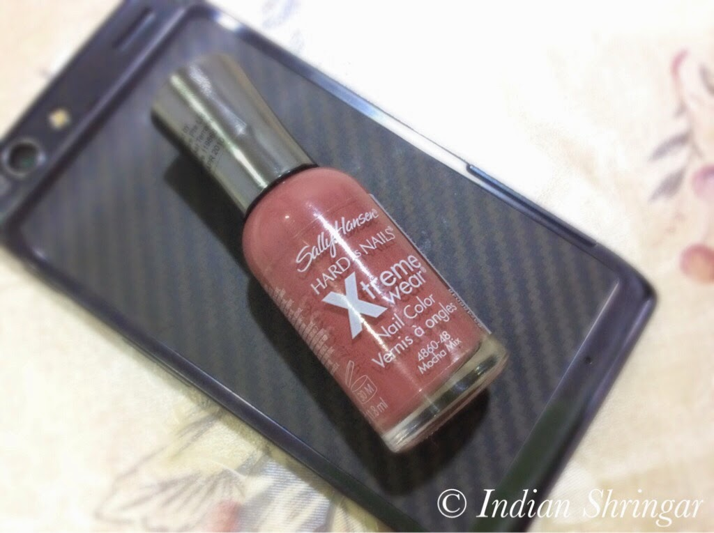 Sally Hansen Xtreme Wear Nail Color In Mocha Mix