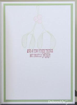 Jonathan's Card inside - photo by Deborah Frings - Deborah's Gems