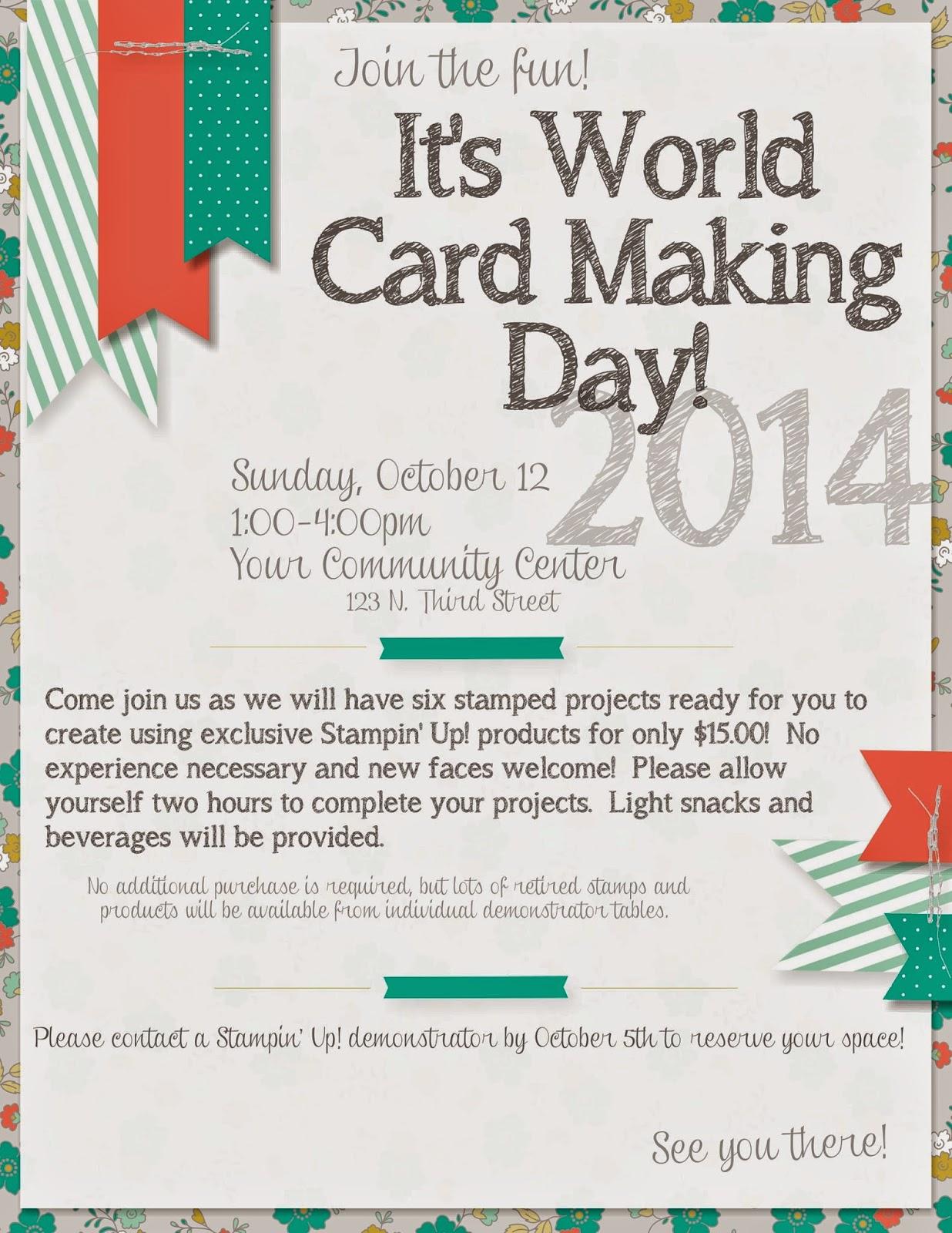 I stamp, I create, I have fun!: WCMD Flyer- MDS Blog Hop