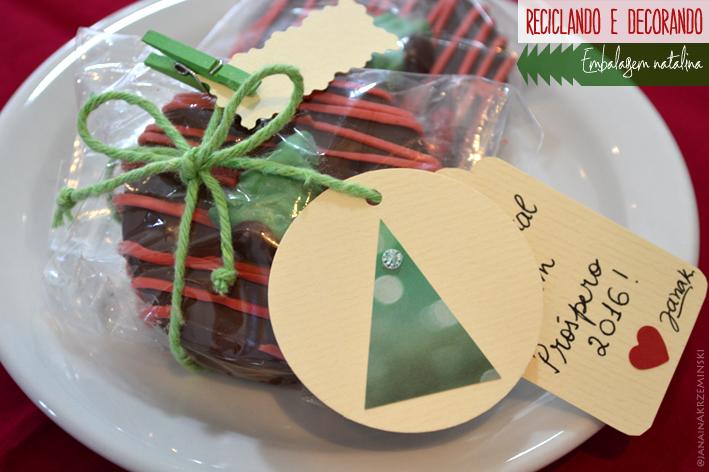 reciclagem, cartão, natal, inspiração, tag, Reciclando e decorando