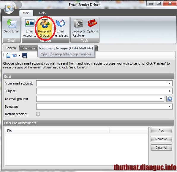 Download Email Sender Deluxe full key mới nhất – Phần mềm gửi mail marketing