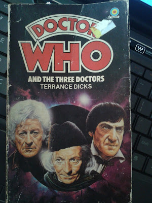 Doctor who and the three Doctors  book cover