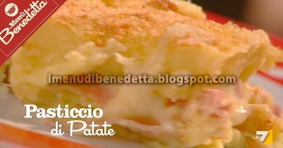 Pasticcio di patate la ricetta di benedetta parodi for Mozzarella in carrozza parodi