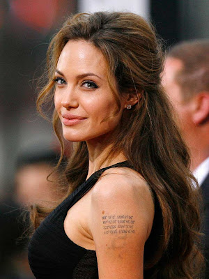 angelina jolie face profile. ANGELINA Jolie is to become