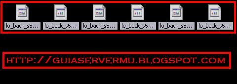 Archivos bmd correspondientes a la interfaz