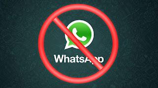 Whatsapp foi bloqueado
