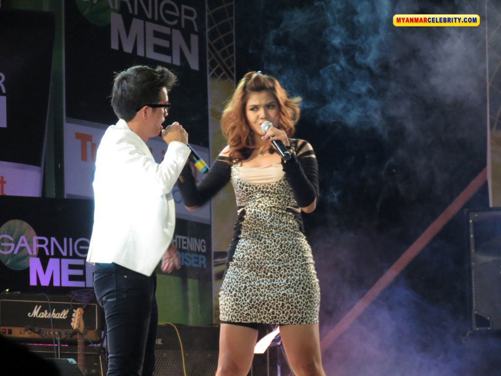 Swe @ Garnier Music Night Concert | Myanmar Singer and Vocalist Photos