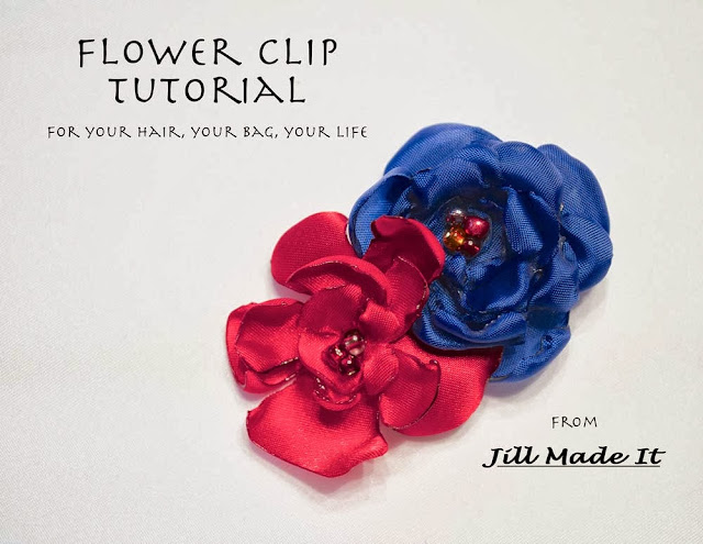 The Finished Flower Clip