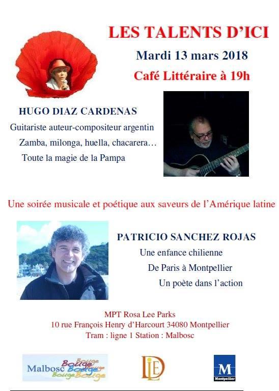 Café Littéraire Mardi 13 Mars 2018 - MPT Rosa Lee Parks