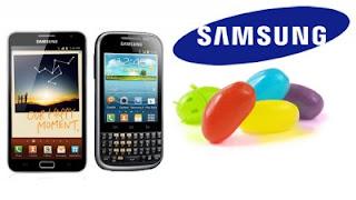 Galaxy Note dan Galaxy Chat Dapatkan Update Android 4.1.2 Jelly Bean
