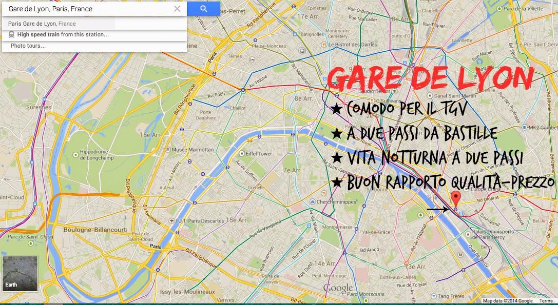 Gare de Lyon - Parigi