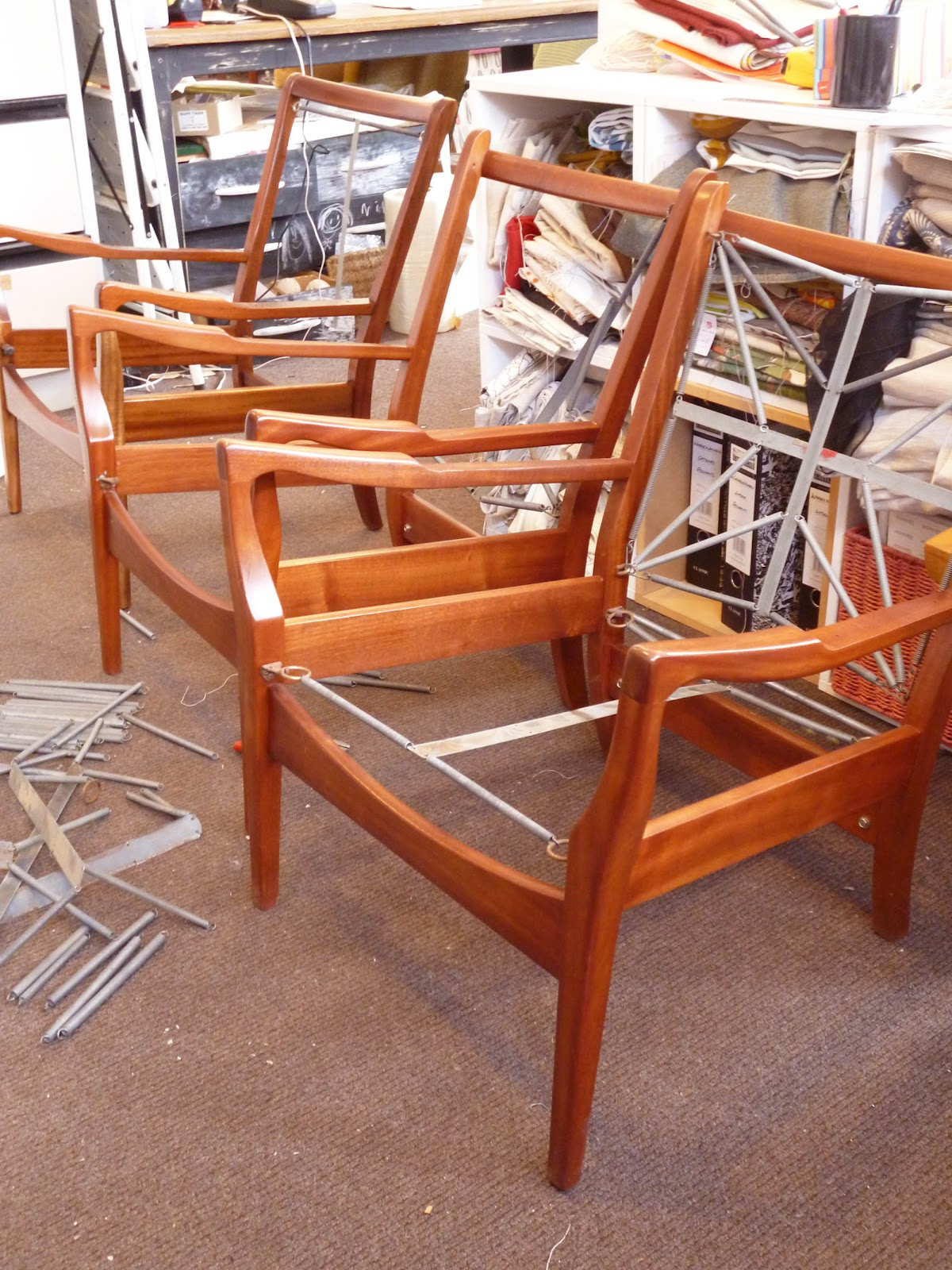 Esdesign Cintique Chair Restoration