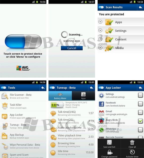 AVG Anti-Virus Pro 2.9 for Android 2