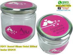 P011 Round Glass Botol 300ml