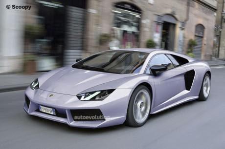 Mobil Lamborghini Aventador new