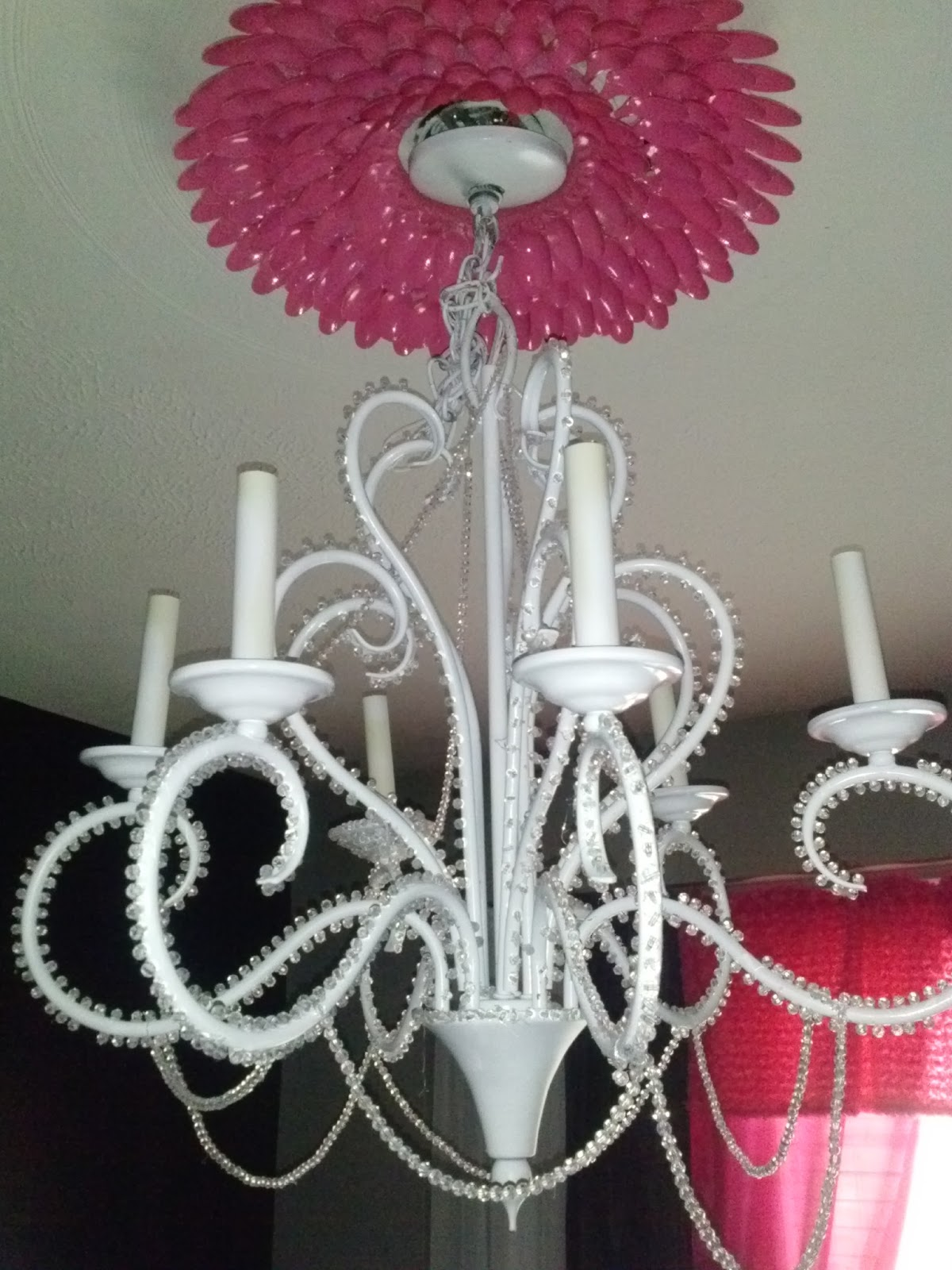 According2sharon habitat store chandelier redo habitat store chandelier redo mozeypictures Gallery