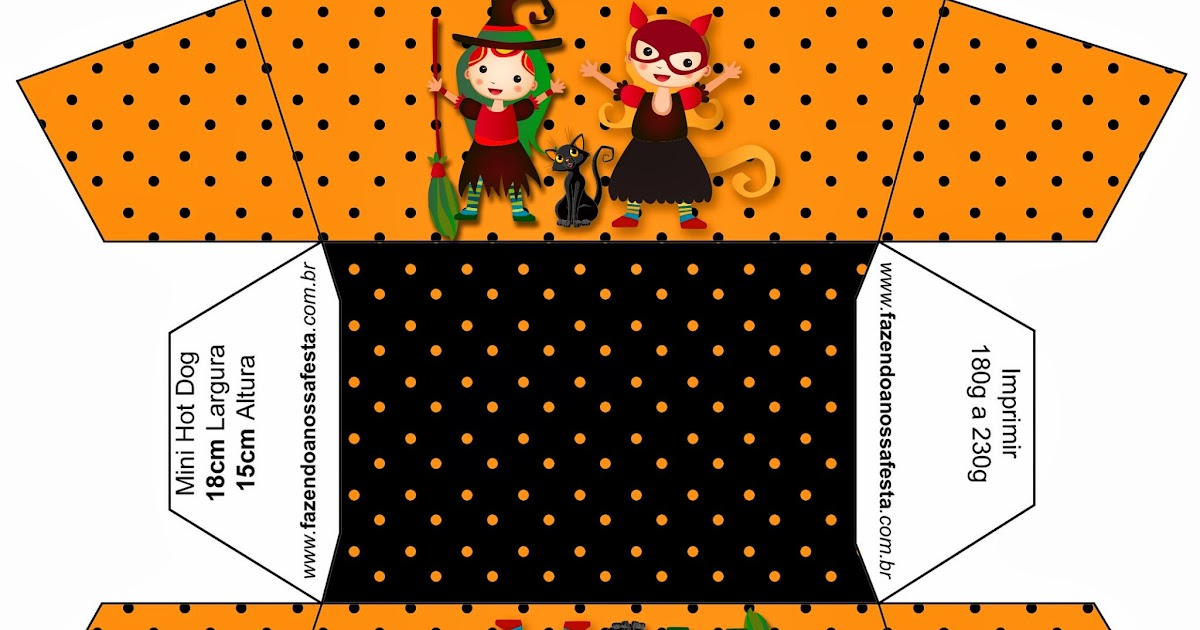 halloween witchs free printables party favor boxes is it for parties is it free is it. Black Bedroom Furniture Sets. Home Design Ideas