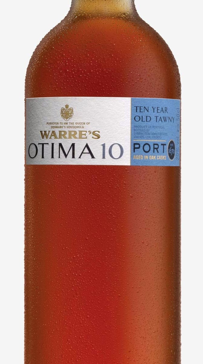bottle of Otima 10 Year Tawny Port
