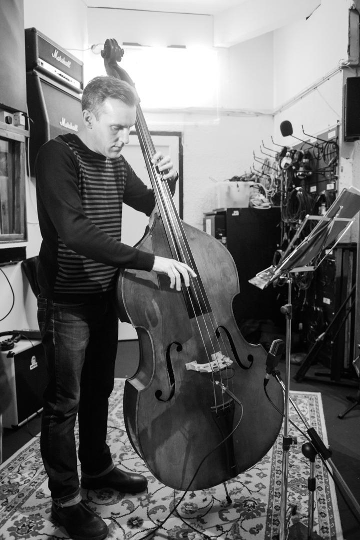 Birmingham recording studio Park Studios JQ | double bass