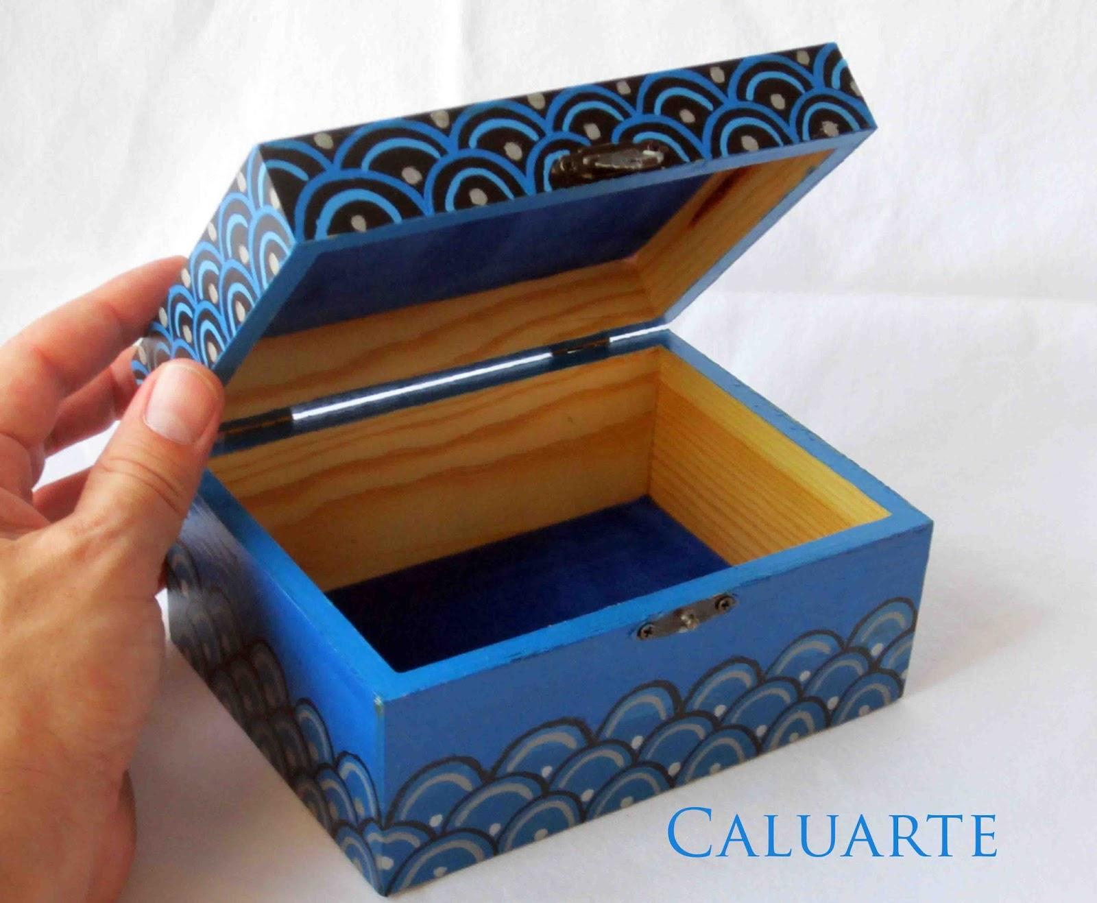 Como pintar una caja de madera imagui Pintar caja madera