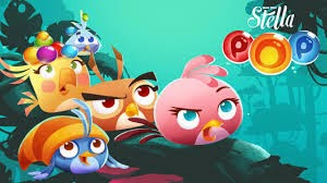 download Game Angry Birds Stella POP di Smartphone Anda