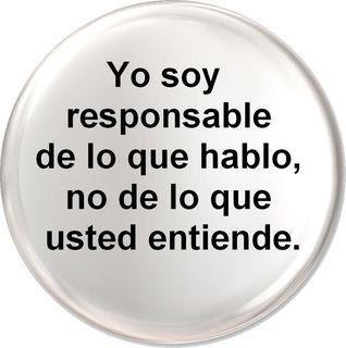 Yo soy responsable...