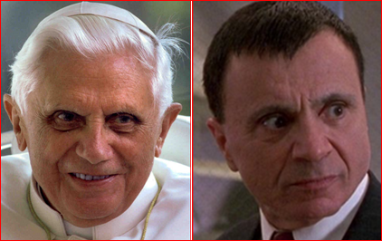 Xdisciple Rat Zinger Pope Benedict Is Actor Robert Blake