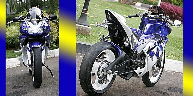 seperti menunggangi moge sport, dipasang foot step Suzuki GSX 400  title=