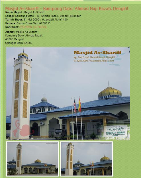 Jom Sedekah ke Masjid