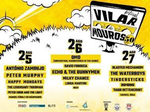 VILAR DE MOUROS: 25, 26 E 27 AGOSTO, 50º FESTIVAL DE MÚSICA.