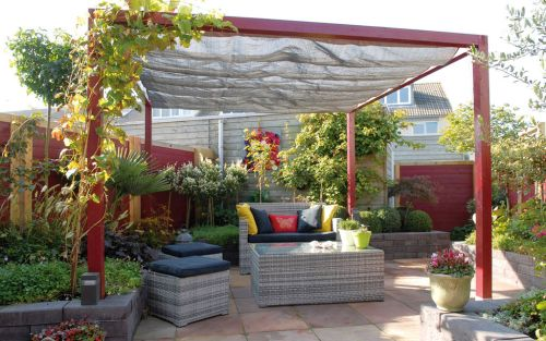 Schaduw in de tuin met een tuin paviljoen tuin 2017 for Schaduw een terras