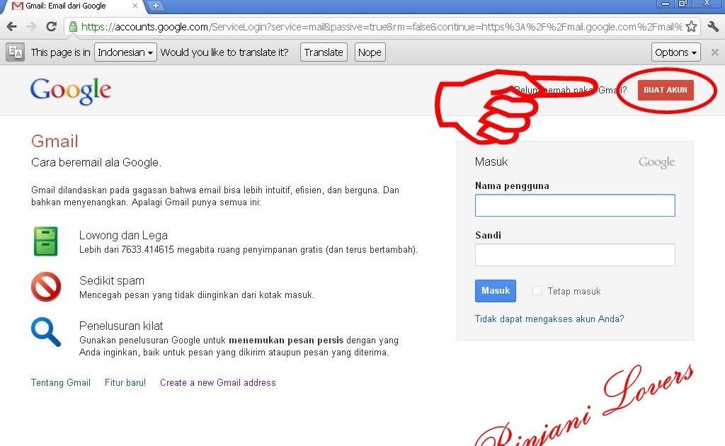 Cara Buat Email Gmail   Software Gratis   Pendidikan Karakter ...