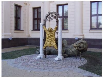 El monument al Velló d'Or a Sochi (Geòrgia)