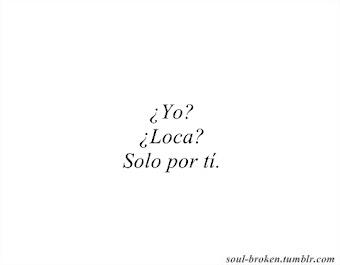 ¿Sabes que te quiero?