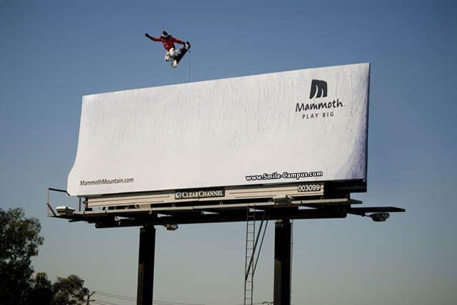 Creative Board Advertisements