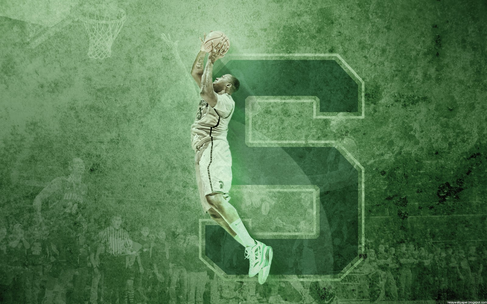 michigan state spartans basketball wallpapers relay