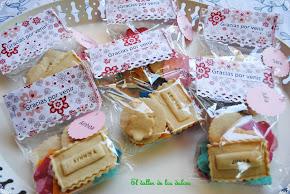 Galletas con sello para regalar