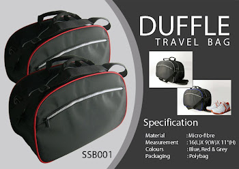 "CENTRUM LINK - NEW - ""DUFFLE TRAVEL BAG"""