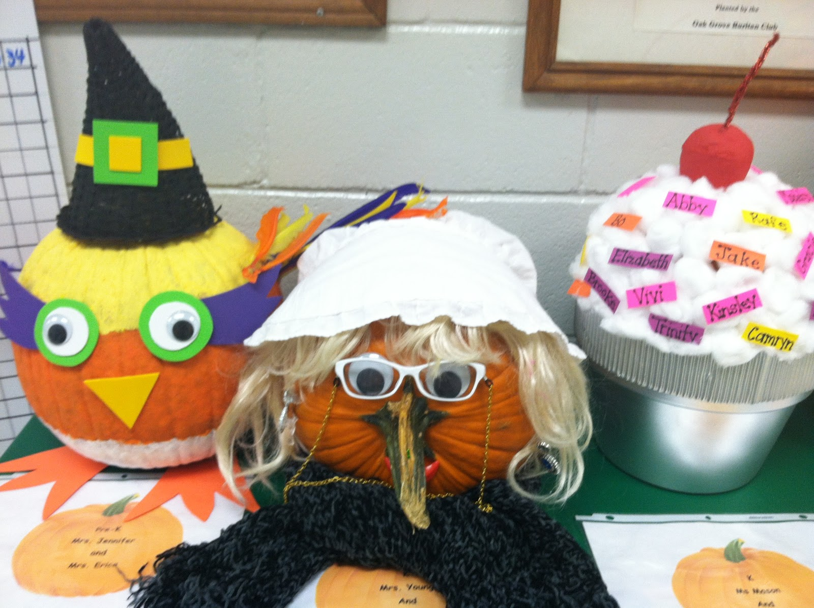 Young u0026 Lively Kindergarten Pumpkin Decorating Contest & Beautiful Pictures Of Pumpkin Decorating Contest Ideas - Best Home ...