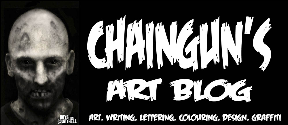 Chain Gun's art blog