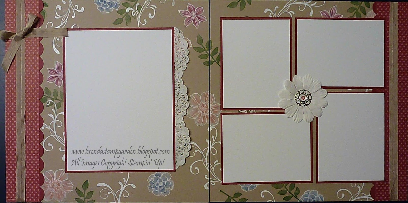 Scrap book pages - To Make These Pages You Ll Need