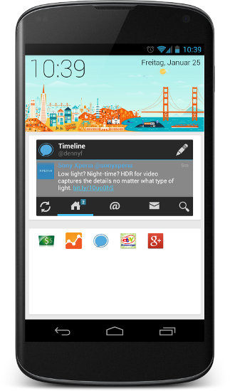 sf launcher google now release